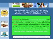 Food Lovers Fat Loss System Increasing the Bodies Ability to Burn Fat