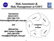 Risk Assesment and Risk Management