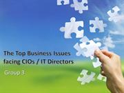 The Top Business Issues-CIO
