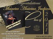 Maurice Graduation Invitation/Announcement