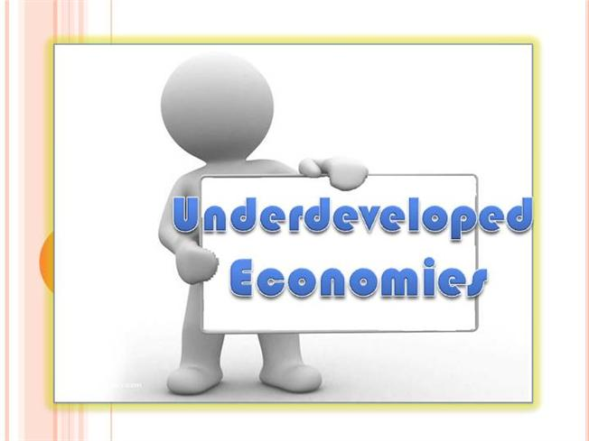 under developed economy