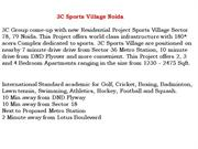 3c sports village - noida  call 9999998662