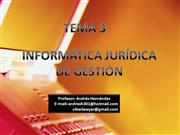 Informtica Jurdica