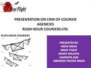 CRM of Courier Agency