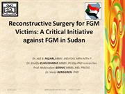 reconstructive surgery for fgm victims: a critical initiative against