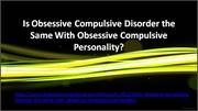 Information on Both OCD and OCP