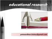 Essentials of Educational Research for Ayurveda Teachers