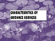 The guidance services