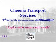 BIC REPORT - Cheema Transport Services