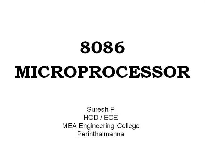 introduction to 80386 microprocessor pdf