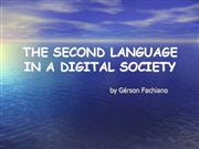 The Second Language In A Digital Society