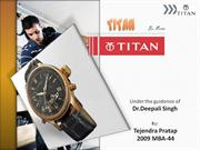 Titan Watch ppt