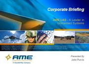 ame overview