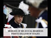 Memoirs of His Royal Highness Prince William of Wales