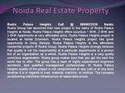 Rudra Palace Heights Noida Call-8860623220