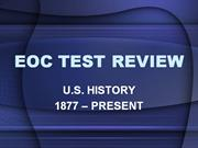 eoc review short fill in