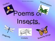 Poems of Insects (Powerpoint 2010)