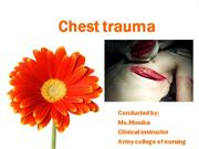 Chest trauma.ppt