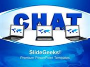 INFORMATION TECHNOLOGY CHAT INTERNET PPT TEMPLATE 1