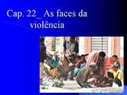 As faces da violência