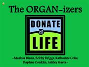 The ORGAN-izers Presentation
