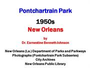 Pontchartrain Park-1950s-New Orleans