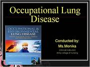 occupational lung disease.ppt