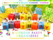 birthday party organizers chennai - orca events