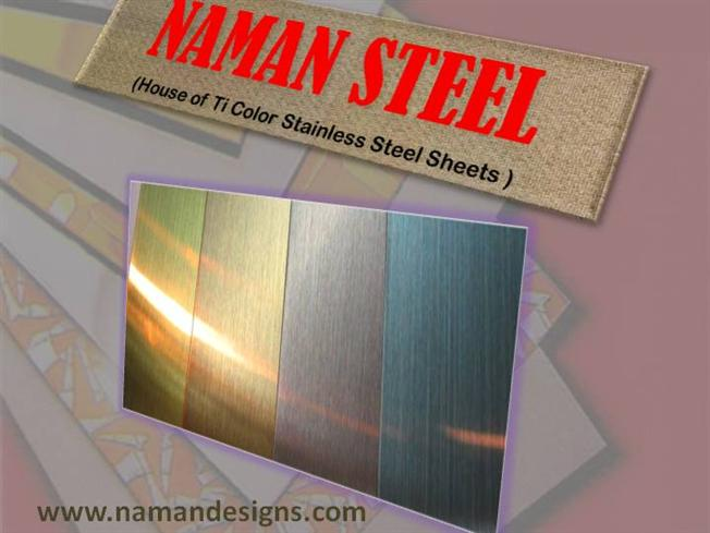 Ti Color Stainless Steel Sheets in Different Metal Colors ...