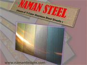 ti color stainless steel sheets in different metal colors.