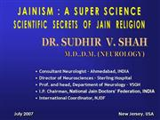Science And Jainism By Dr Sudhir Shah