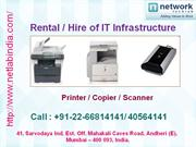 scanner on rent, ip surveillance solution, canon photocopier, computer