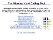 The Ultimate Cold Calling Tool