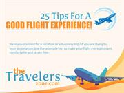 25 tips for a good flight experience!