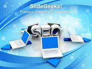 INFORMATION TECHNOLOGY SEO CHOICES SECURITY PPT TEMPLATE