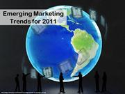 Emerging Marketing Trends for 2011