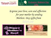 send mothers day gifts to india from talash.com