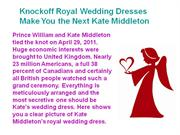 Knockoff Royal Wedding Dresses Make You the Next Kate Middleton