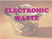 electronic waste ppt