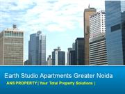 booking@9654435045 earth studio apartments greater noida