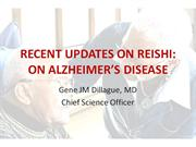 REISHI AND ALZHEIMERS show