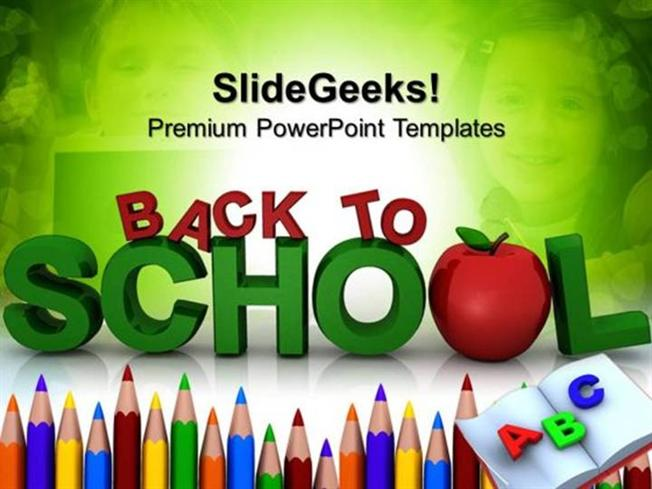 EDUCATION BACK TO SCHOOL EDUCATION PPT TEMPLATE 1-PowerPoint