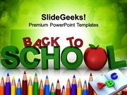 EDUCATION BACK TO SCHOOL EDUCATION PPT TEMPLATE 1