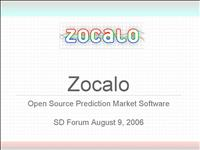 Zocalo SD Forum 06Aug9