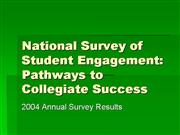 Student Engagement Survey