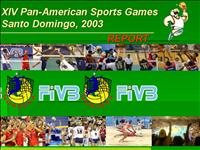 XIV Pan American Sports Games 2003 Web