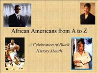 African Americans A Z