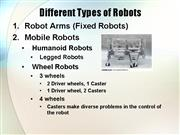 Robot Different Types