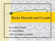 Properties Of Rocks And Minerals Powerpoint