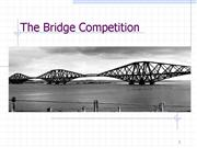 Introduction to the Bridge Competition